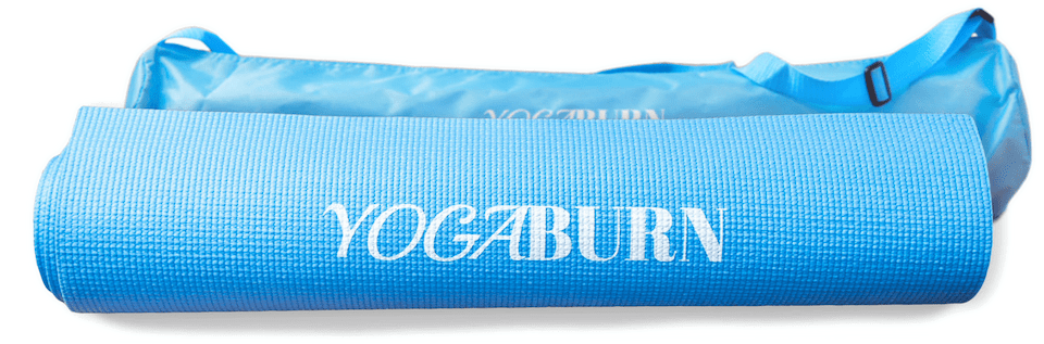 Yoga Burn Foundation Mat              Plus Case